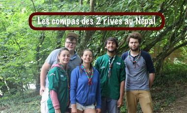 Project visual Les Compas des 2 Rives au Népal