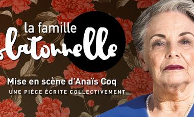 Project visual Théâtre - La famille Latonnelle
