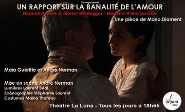 """Visueel van project """"Un rapport sur la banalité de l'amour"""" en Avignon"""