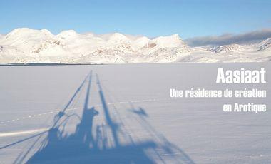 Visueel van project Aasiaat, une résidence de création en Arctique