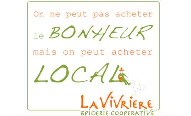 Visueel van project La Vivrière, épicerie coopérative