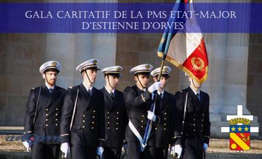 Project visual Gala caritatif de la PMS Marine état-major