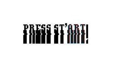 Visuel du projet Exposition Press St'ART, ou le détournement du jeu vidéo dans l'Art.