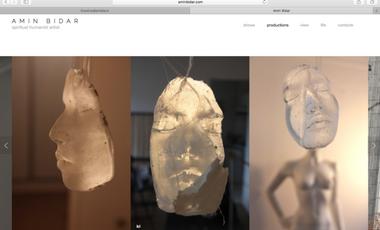 Project visual EXPOSITION Amin Bidar