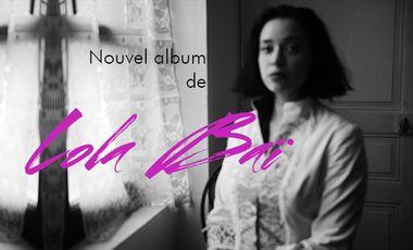Visuel du projet 3ième album de Lola Baï