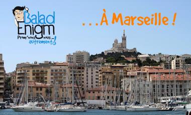 Visuel du projet BaladEnigm : prom'nons-nous autrement… à Marseille !