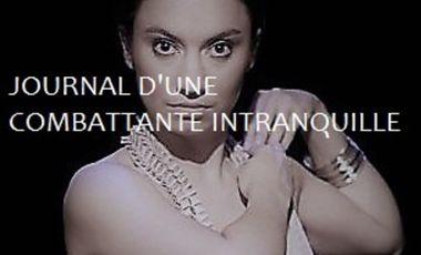 Project visual JOURNAL D'UNE COMBATTANTE INTRANQUILLE