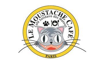 Project visual Le Moustache Café