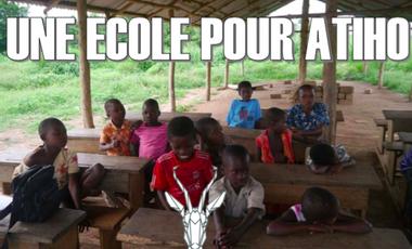 Visuel du projet UNE ÉCOLE POUR ATIHO