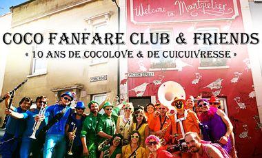 Visueel van project Les 10 ans du Coco Fanfare Club !