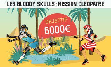 Visueel van project Bloody Skulls : Mission Cléopâtre - Un match de roller derby au Caire