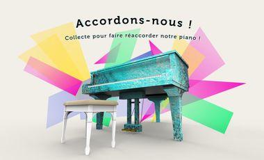 Visueel van project Accordons-nous !