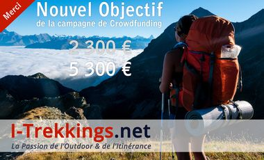 Visueel van project I-Trekkings.net : la Passion de l'Outdoor et de l'Itinérance