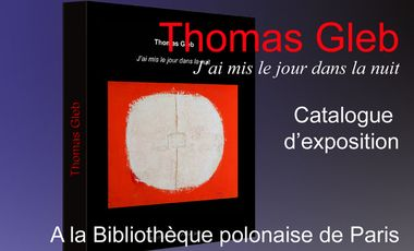 Visueel van project Catalogue d'exposition Thomas Gleb