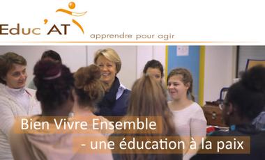 Visuel du projet Bien vivre ensemble - Une éducation à la paix.