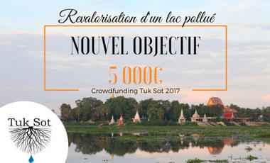 Project visual Cambodge: revalorisation d'un lac pollué
