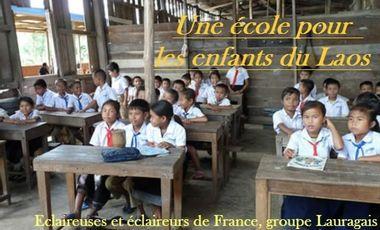 Visueel van project De l'humanitaire au Laos, éclaireuses et éclaireurs de France du Lauragais