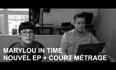 Project visual Nouvel EP de Marylou In Time + court métrage