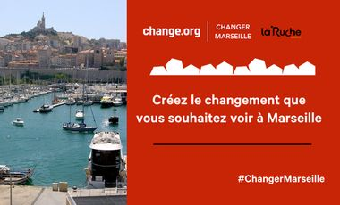 Visueel van project Changer Marseille