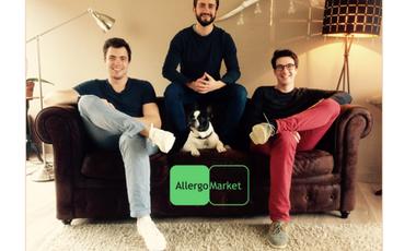Project visual Financez la première plateforme qui améliorera le quotidien des personnes allergiques