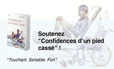 """Project visual """"Confidences d'un pied cassé"""" de Sabine BESANÇON"""