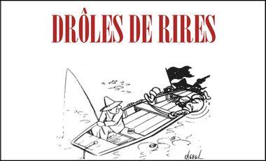 Visueel van project DRÔLES DE RIRES - Une anthologie de l'Humour