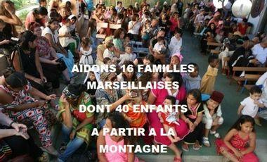 """Visuel du projet la """"Maison de Nany""""  AIDONS 40 enfants à partir à la montagne"""