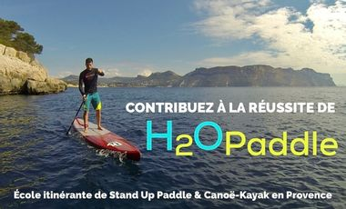 Visueel van project H2O paddle