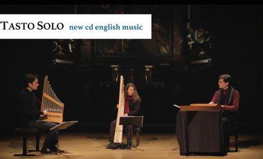 Visuel du projet TASTO SOLO - CD Early Modern English Music