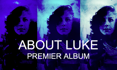 Visueel van project About Luke - premier album