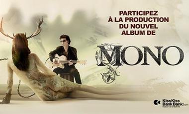 Visuel du projet MONO  - L' album en Anglais