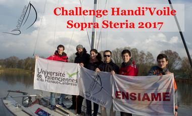 Visuel du projet Challenge Handi'Voile Sopra Steria 2017