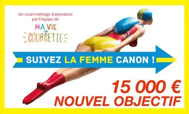 Project visual La Femme-canon