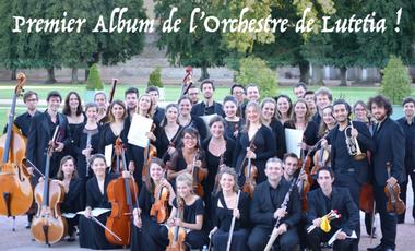 Project visual L'Orchestre de Lutetia entre en studio !