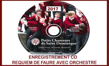 Project visual Requiem de Fauré - PCSD - Orchestre et Nouveau CD
