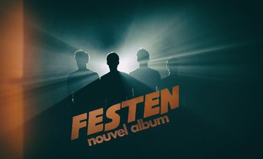 Visueel van project FESTEN // Nouvel Album