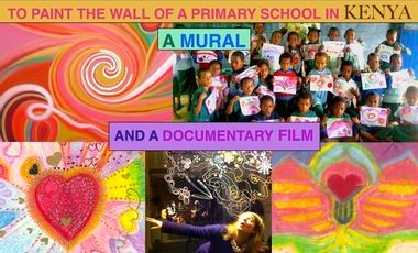 Visueel van project To paint a mural in a primary school in Kenya.