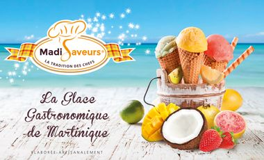 Project visual La glace gastronomique de Martinique