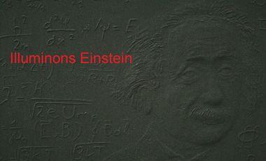 Project visual Illuminons ensemble Einstein