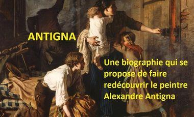 Visueel van project Antigna ou La passion des humbles - Le livre