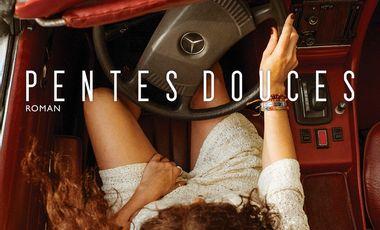Project visual PENTES DOUCES, roman 50% texte 50% photo