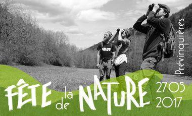 Visueel van project La Fête de la Nature à Prévinquières 2017