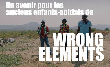 "Visueel van project Un avenir pour les anciens enfants-soldats de ""Wrong Elements"""