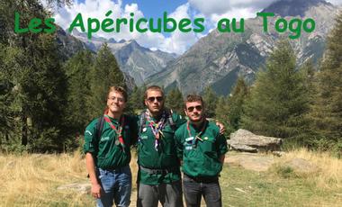 Visueel van project Les Apéricubes au Togo !