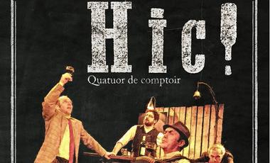 Project visual Enregistrement de la bande son du spectacle Hic!