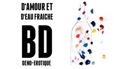 """Visueel van project BD """"D'amour et d'eau fraîche"""""""