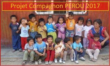 Project visual Projet solidaire SGDF, objectif Pérou