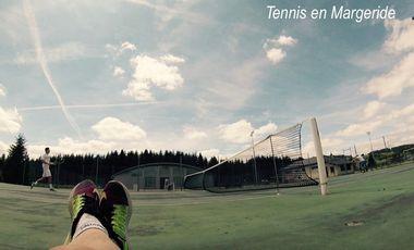 Project visual Tennis en Margeride