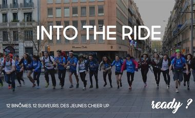 Visueel van project Into The Ride 2017 : Travel Beyond Cancer