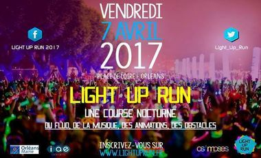 Project visual Light Up Run 2017
